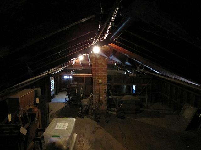John Muir's attic
