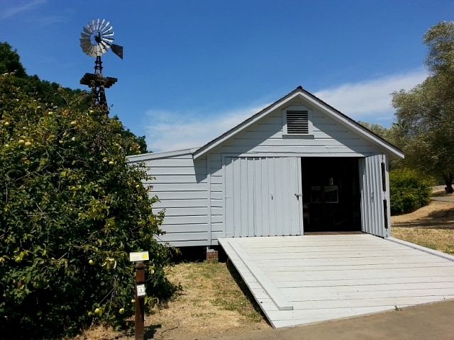 John Muir's carriage house