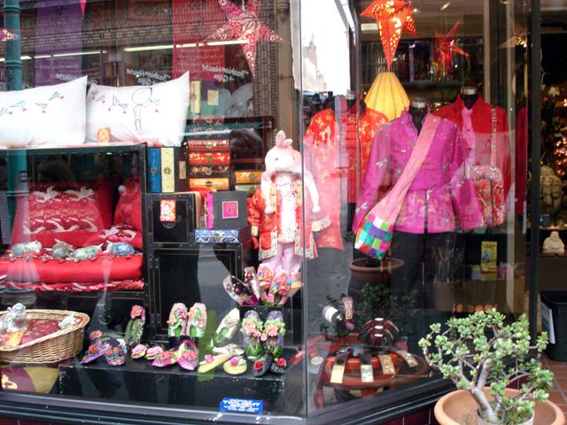 Chinatown shop window