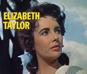 Elizabeth Taylor in the trailer for Giant