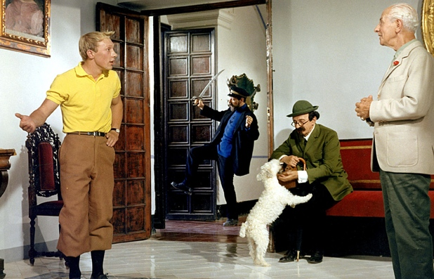 Jean-Pierre Talbot as Tintin