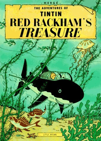 """Red Rackham's treasure""  cover"