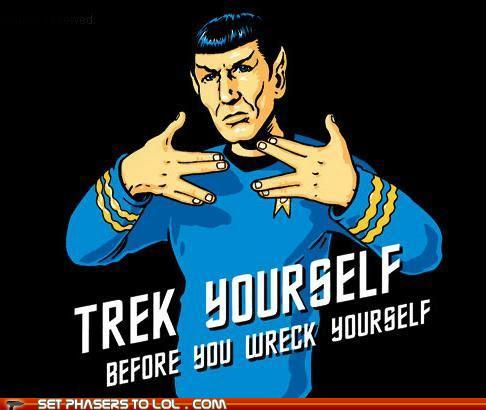 Star Trek yourself