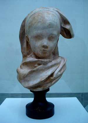Alsacienne girl by Rodin