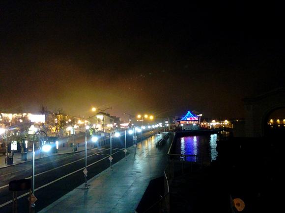 Fisherman's Wharf after dark