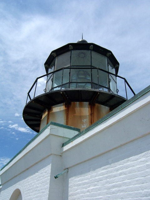While not tall and stately, Point Bonita Lighthouse is a sturdy, but beautiful bit of architecture. Photo by Lastech