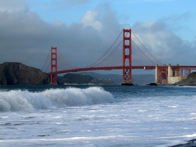 We have seen the Golden Gate Bridge looking magnificent