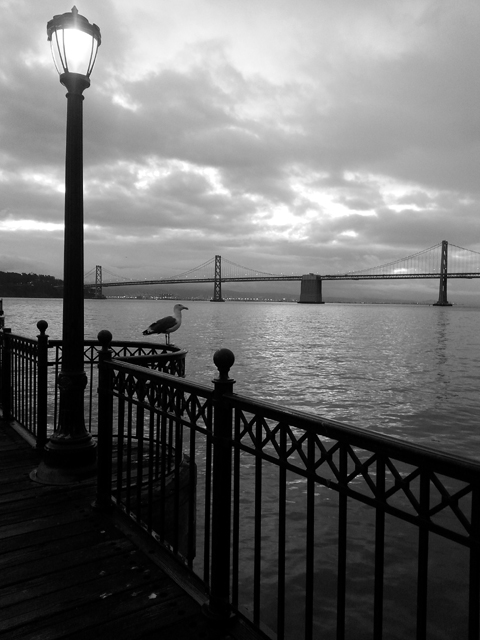 Bay Bridge by Rudha-an