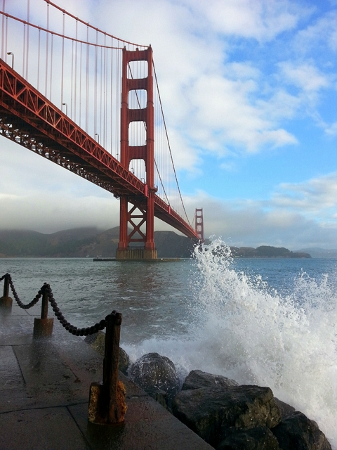 Golden Gate Bridge by Rudha-an
