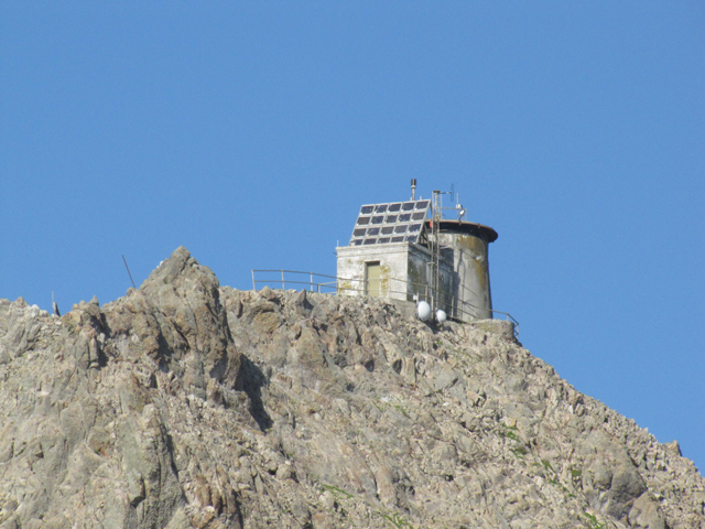 The Farallon light. It's now used an outpost for counting birds.