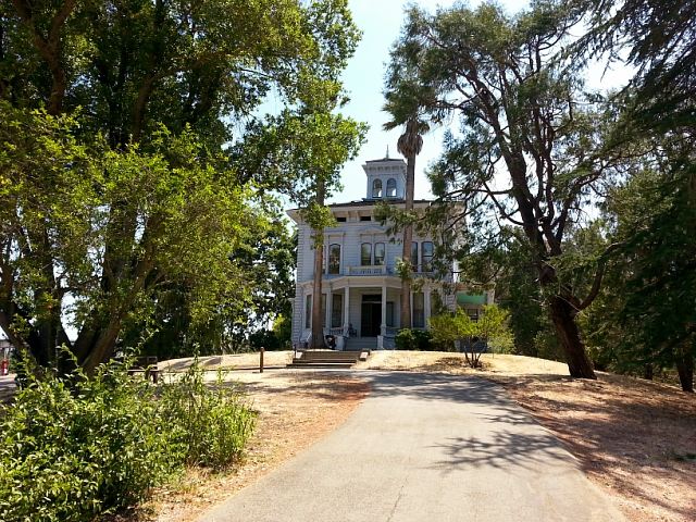 John Muir's home located in Martinez, CA. It was built by his father-in-law, Dr. John Strentzel