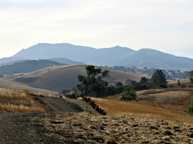 Looking back at Mt. Diablo