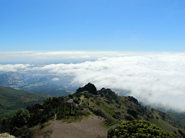 View from the top of Mount Diablo